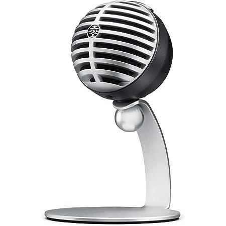 Shure MV5-DIG Microfono Digitale A Condensatore, Usb E Cavo Lightning, Grigio, Nuova Confezione