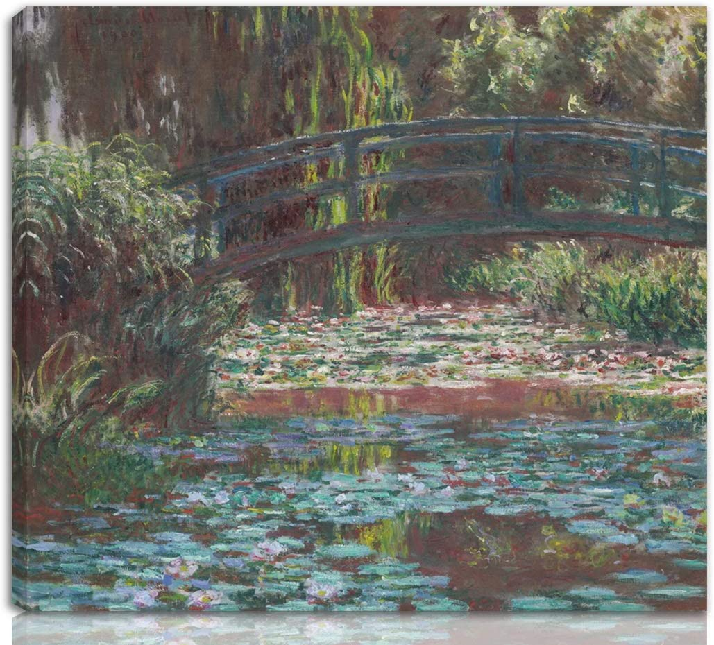 Berkin Arts Claude Monet Stretched On Washington Mall Print Giclee Japan's largest assortment Canvas-Famous