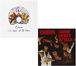 A Night At The Opera - Sheer Heart Attack - Queen 2 CD Album Bundling