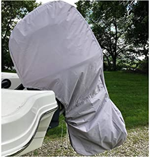 Boat Motor Covers,Full Outboard Motor Cover,Waterproof Outboard Engine Covers,420D Heavy Duty Oxford For Outboard Motor