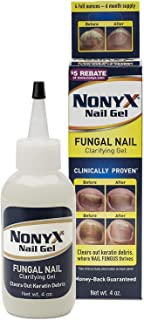 NONYX FUNGAL Nail CLARIFYING Gel, Clears Out Unsightly Keratin Debris Where Nail Fungus Grows, Effective for Damaged, Disc...