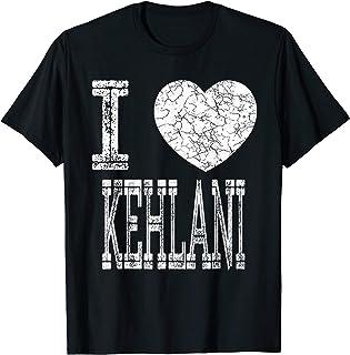 I Love Kehlani Valentine Girlfriend Girl Daughter Heart Wife T-Shirt