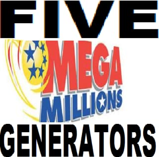 Megamillions Lotto Five Generators, Interactive, Frequent Numbers, Shaker Generator, Quickpick, Favorite Numbers (no advertisements )