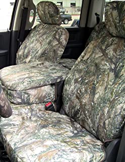 Exact Seat Covers, DG15 MC2-C, 2011-2012 Dodge Ram 1500-3500 Front and Rear Seat Cover Set. Front 40/20/40 with Opening Console. Rear Solid Bench Seat. MC2 Camo Endura Custom Exact Fit Seat Covers