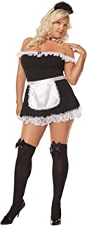 Hot Spot Sexy French Maid Adult Roleplay Costume
