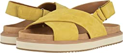 Electric Yellow Nubuck
