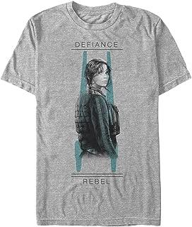 Star Wars Men's Rogue One Jyn Overlay T-Shirt