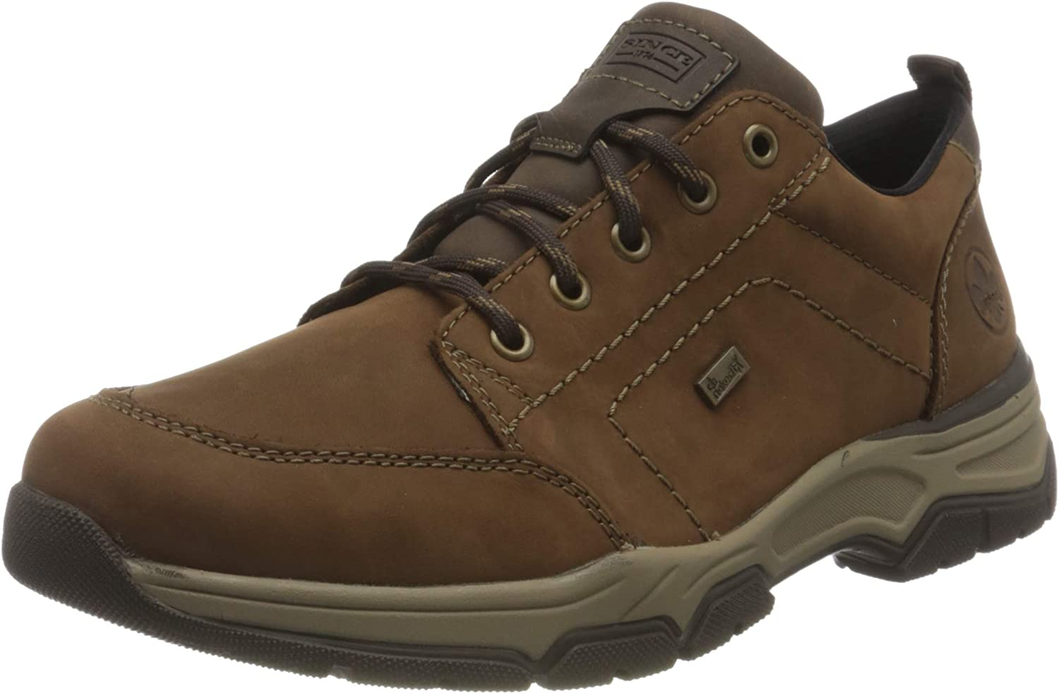 Rieker Men's Derby Ranking TOP20 Oxford At the price of surprise Flat US 7.5
