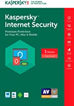 Kaspersky Internet Security 2017 | 1 Device | 1 Year | Download [Online Code]