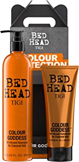 BED HEAD By TIGI Colour Goddess Shampoo and Conditioner for Coloured Hair Pack of 2