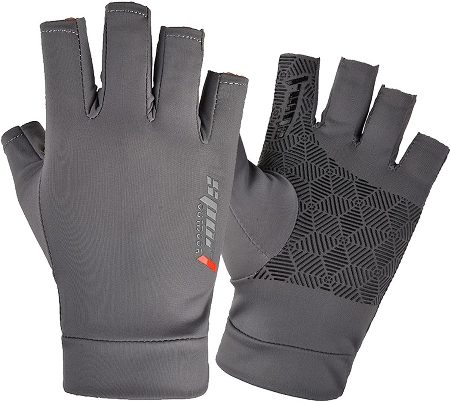 Raleigh Mall Rowing Gloves Nonslip Gym Outdoor Gl Driving Finger Cycling Half San Antonio Mall