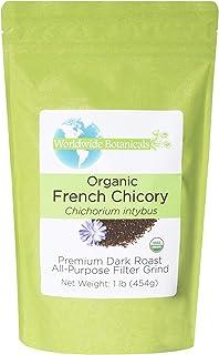 Worldwide Botanicals, Organic French Chicory Root (Coffee Substitute), Dark Roast, All