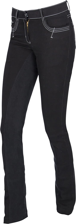 Covalliero Damen Cov.Reithose BasicPlus Jodhpur schwarz, schwarz, schwarz, Größe 46 Reithose B07D3Z8VLK  Viel Spaß 1ade96