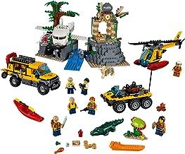 LEGO City Explorers Jungle Exploration Site Building Kit 60161 (813 Pieces)