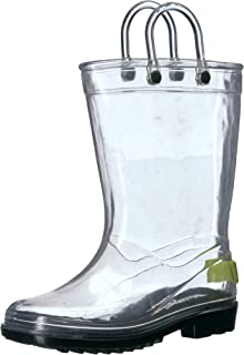 Western Chief Kids Unisex Clear PVC Boot
