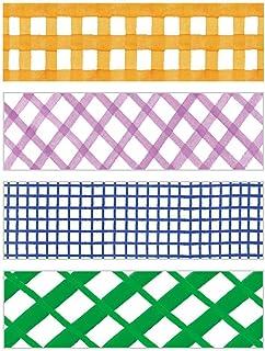 キングジム ちいさく持てる マスキングテープ KITTA キッタ チェック3 KIT034 【まとめ買い10冊セット】