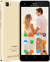 Unlocked Cell Phones V Mobile A11-N 5.0 inch HD Display,4G Android Phones 8.1 Dual Sim 16GB ROM 8.0MP Rear Camera Quad Core Simple Mobile Phone for WiFi GPS 8PCS