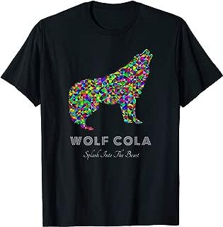 Wolf Cola Colorful Slogan Shirt