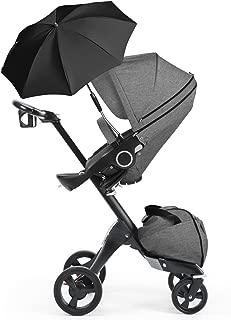 STOKKE XPLORY Stroller - Black Melange / True Black