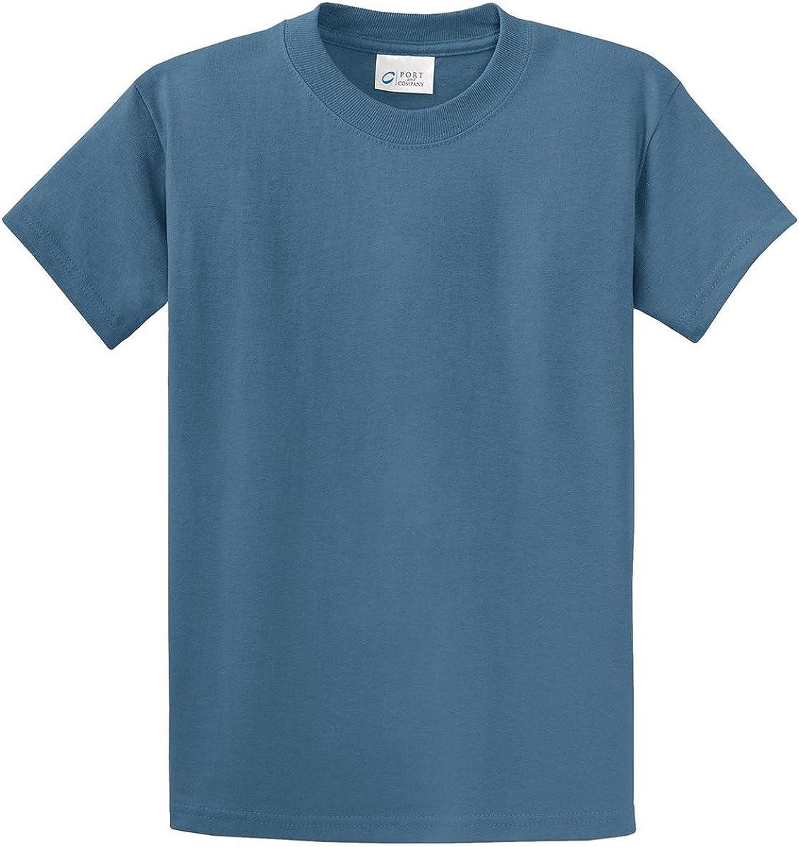 Port & Company Tall Essential T-Shirt-4XLT (Sand),4X Tall,Athletic Heather