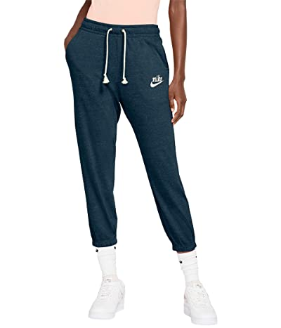 Nike NSW Gym Vintage Capris (Deep Ocean/Sail) Women