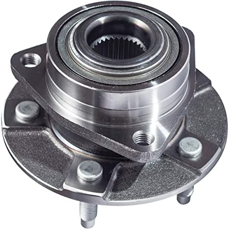 FWD// 4WD 2006 Pontiac Torrent Front Left//Right Side for 2002-2007 Saturn Vue w//o ABS CRS NT513190 New Wheel Bearing Hub Assembly 2005-2006 Chevy Equinox