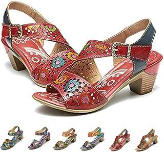 c63ebb04 Mujer Sandalias Y Amazon Chanclas Para esPiel Zapatos mN0Py8nwOv