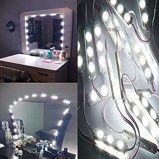 PGVAVA 女優ライト ハリウッドスタイル 簡単にDIY化粧ライト 浴室 洗面 化粧鏡ライト 超輝度 全長4m 調光可能 省エネ防水レベルIP65 ドレッサー装飾 化粧 撮影 化粧台 洗面台