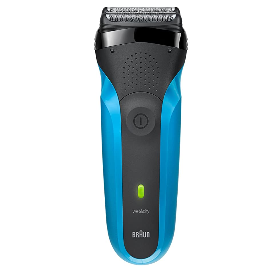 Braun Electric Razor for Men / Electric Shaver, Series 3 310s, Rechargeable, Wet & Dry, Blue
