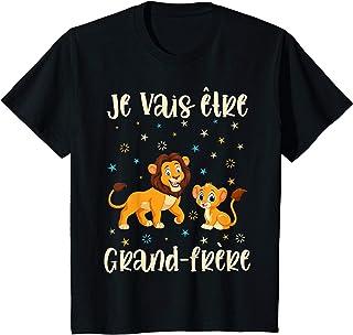 Enfant Futur Grand Frère Annonce Petit Frère Cadeau Garçon T-Shirt