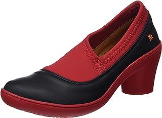 18c84708280 ART 1446 Grass Black-Grosella/Alfama, Zapatos de tacón con Punta Cerrada  para