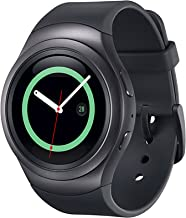 Samsung Gear S2 R730A Smartwatch (AT&T) – Black / Dark Gray (Renewed)