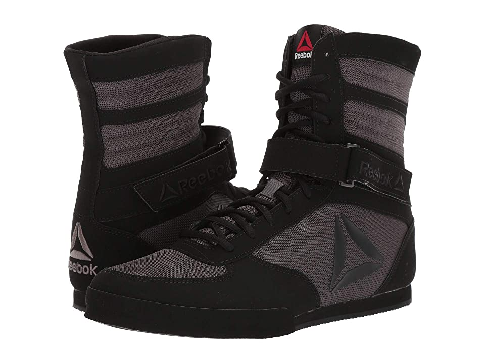 Reebok Boxing Boot - Buck (Black/Ash Grey) Men's Shoes