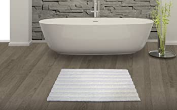 "Spaces Swift Dry Cotton Bath Mat - 20""x32"", Pearl"