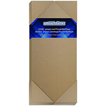Point 3 X 5 Inches Medium Weight Photo|Card Size .046 Caliper Thickness Cardboard Craft|Packing Brown Kraft Paper Board 25 Sheets Chipboard 46pt