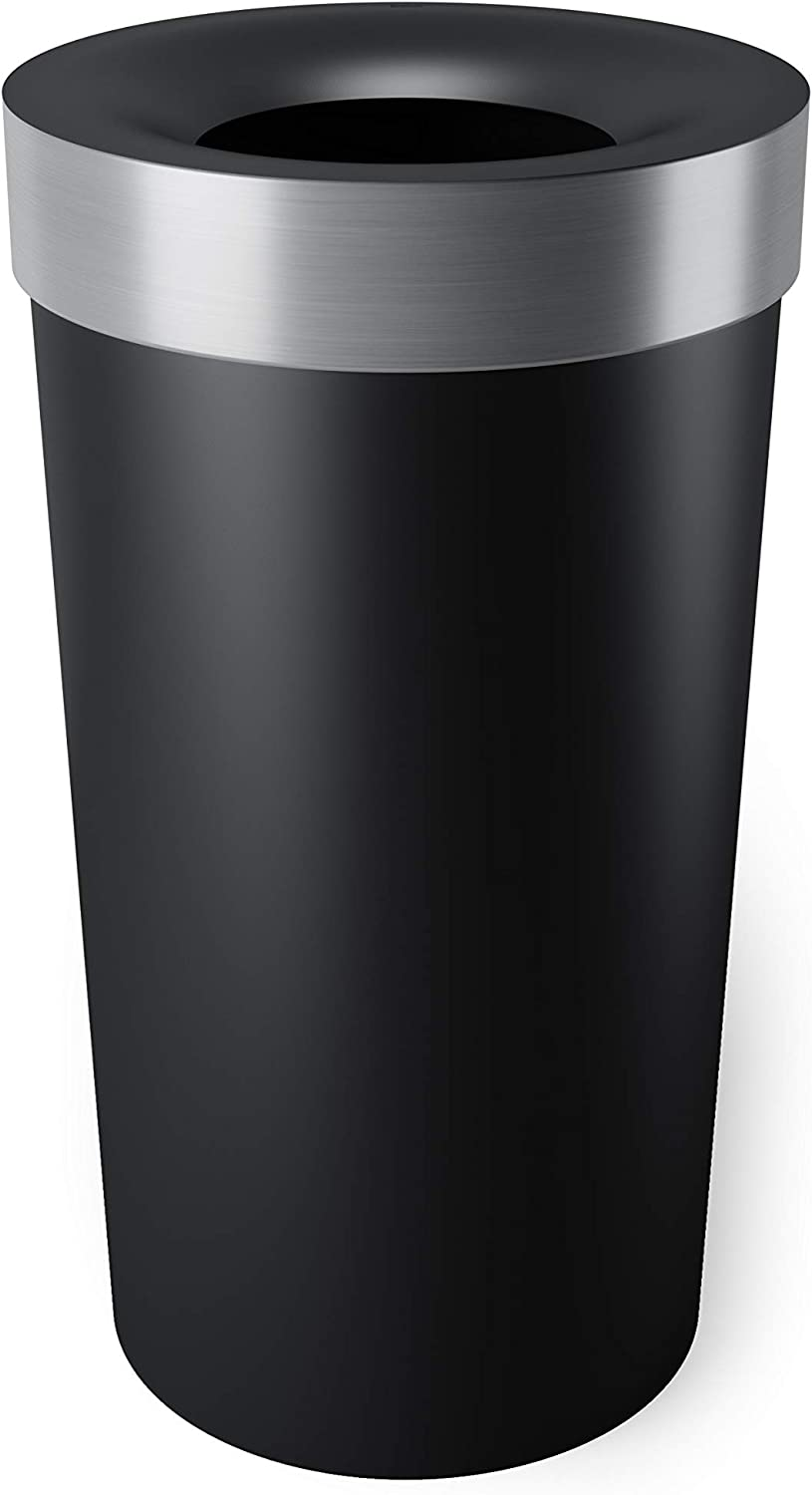 Umbra Vento Open Top 16.5-Gallon Large Trash Gifts Kitchen Ca Garbage Ranking TOP2