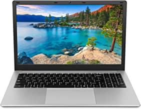 Laptop 15.6 inch Computer PC Notebook, Windows 10 Pro OS Intel Celeron Quad-core CPU 8GB RAM 128GB SSD Storage, RJ45 Port ...