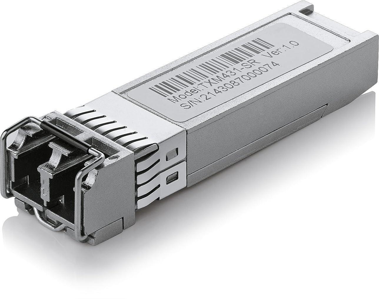 エンドウ一回有名なTP-Link  10GBase-SR SFP+ LC Transceiver 5年保証 TXM431-SR