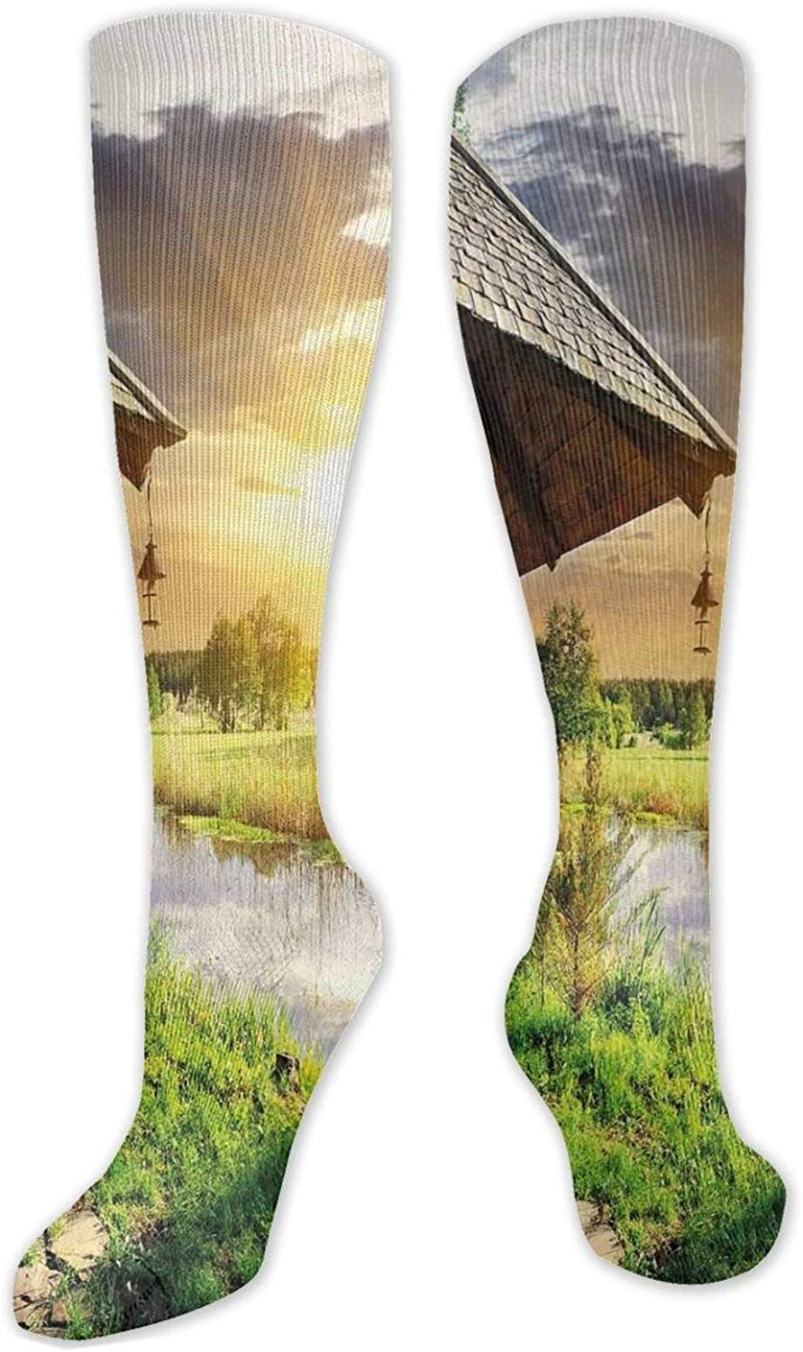 Compression Socks for WomenMen Knee High Super Special SALE held Sock One Sales results No. 1 Size(50C