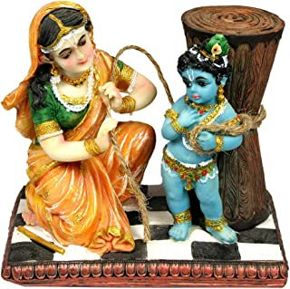 Sweet Damodar Yashoda Krishna Statue 5.25