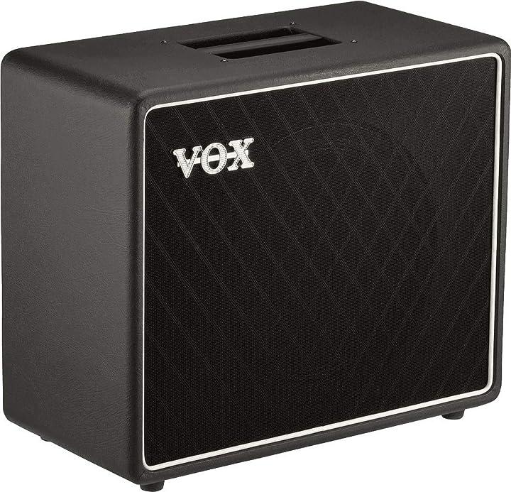 Vox bc112 nero cab series – 70 w – 2,5 x 30,5 cm speaker cabinet
