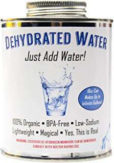 can you dehydrate water