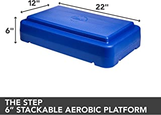 Escalade Sports The Step, 4 inch Green Stackable Step