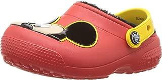 crocs Kids' Boys & Girls Disney Mickey Mouse Fuzz Lined Clog