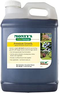 Monty's Plant Food Company 503160 Plant Vantage Premium Growth Fertilizer, 16 oz