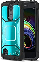 Phone Case for [LG Zone 4 (Verizon Wireless)], [Alloy Series][Blue] Aluminium [Metal Plate][Military Grade] Shockproof Cover for LG Zone Optimus 4 (Verizon Wireless Prepaid Phone)