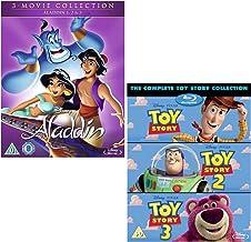Aladdin - Toy Story - Complete 3 Movie Collection - Walt Disney 2 Movie Bundling Blu-ray