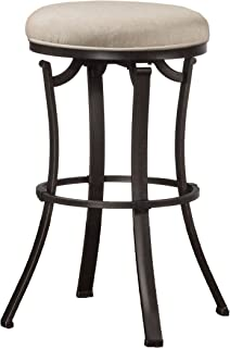 Hillsdale Furniture Bryce Swivel Counter Stool, Black