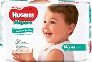 Huggies Platinum Diapers, Extra Large, 44ct