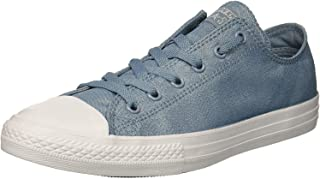 Chuck Taylor All Star Fairy Dust Ox Washed Denim Textile Youth Trainers Shoes